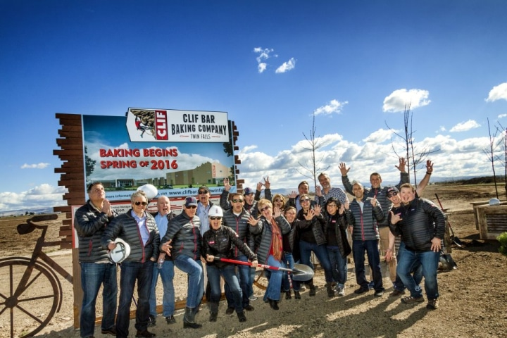 Images of Clif Bar's ground breaking celebration in Twin Falls.