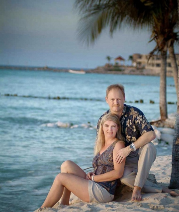 Jim and Mary in Isla Mujeres, 2006