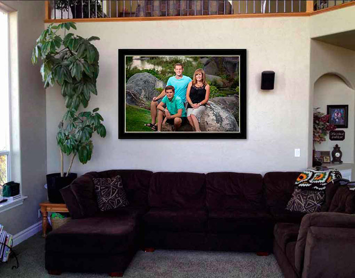 Family Wall Portraits